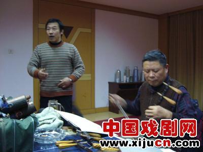 扬州新闻政治文化联合会举办京剧音乐会