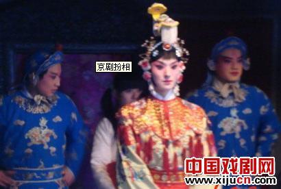 俞樾在《神枪手》中的京剧打扮得很漂亮