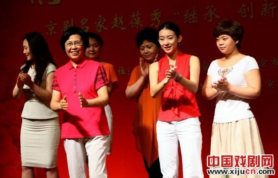 京剧大师赵宝秀将和他最好的六名学生在梅兰芳大剧院演出。