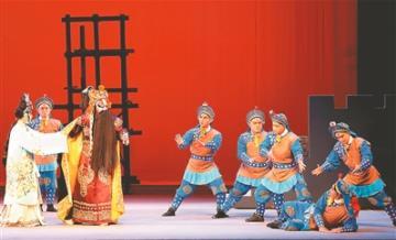 新原创京剧《大明城墙》在紫金景坤艺术集团第二次会议上亮相