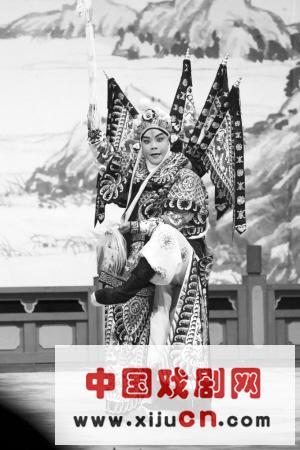 全国青年京剧演员电视比赛学生角组复赛决赛在天坛一府舞台结束(照片)