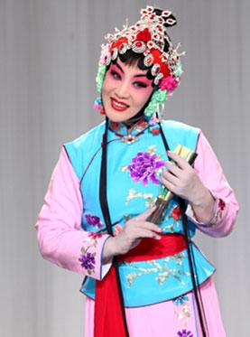 11月2日,长安大剧院上演了京剧《桃花村》。