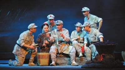 现代京剧《红军故事》首演