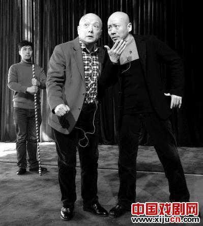 孟广禄、李鸣岩、陈少云和石弘毅等京剧大师排演了京剧《重返心田》