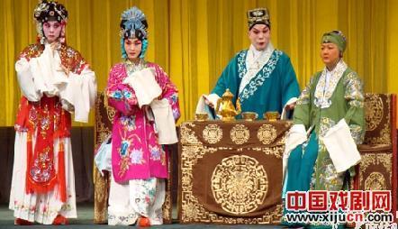 天津青年京剧团廊坊演出京剧《八锤》、《红娘》和《英雄》