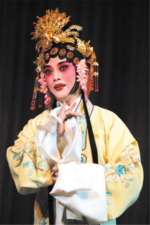 平剧《珍珠衬衫》昨天在北京梅兰芳大剧院上演。