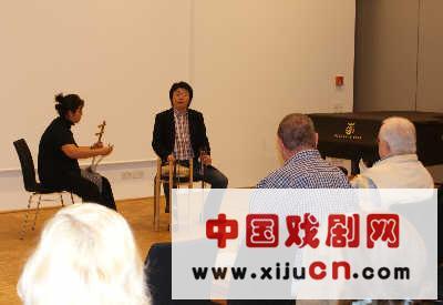 柏林中国文化中心举办京剧歌唱欣赏讲座(照片)