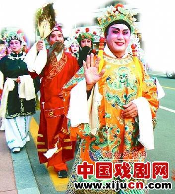 京剧票持有者也接受学徒。