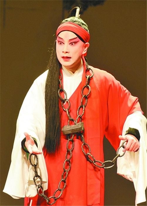 著名的叶派小生李宏图将演出五部主要戏剧,这要归功于他的老师。