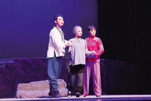 广西戏剧学院京剧剧团《红色经典》京剧现代戏集锦部队演出