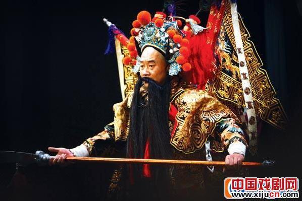 """应伦敦奥组委的邀请,贵州京剧剧院举行了一场名为""""中国京剧精彩伦敦奥运会开幕式""""的演出"""