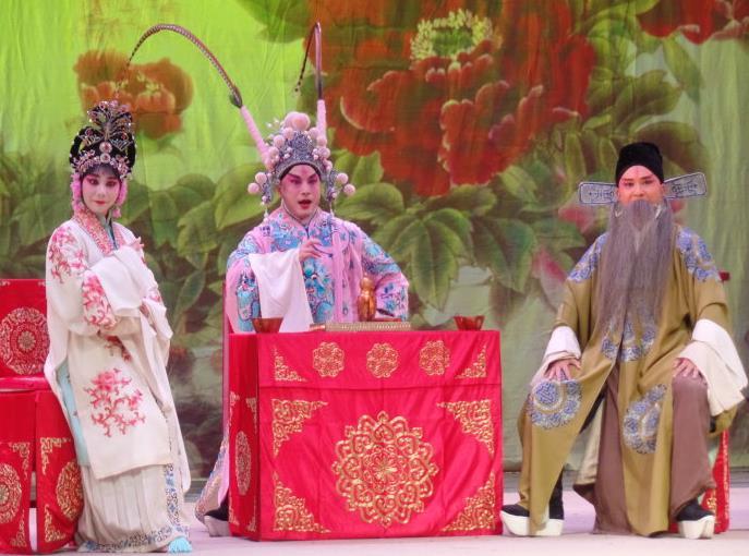 安徽徽派京剧团在蚌埠的特殊演出