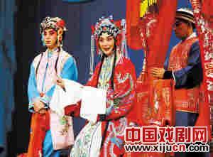天津京剧院上演《索林胶囊》