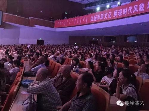 以廉政为主题的晋剧《城市之旅》在内蒙古人民大会堂上演。