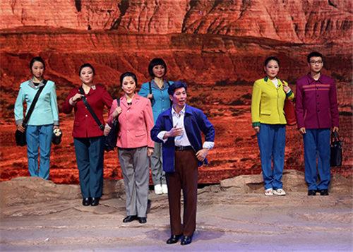 李保国,一部大型原创现代金剧,在河北省井陉首映。