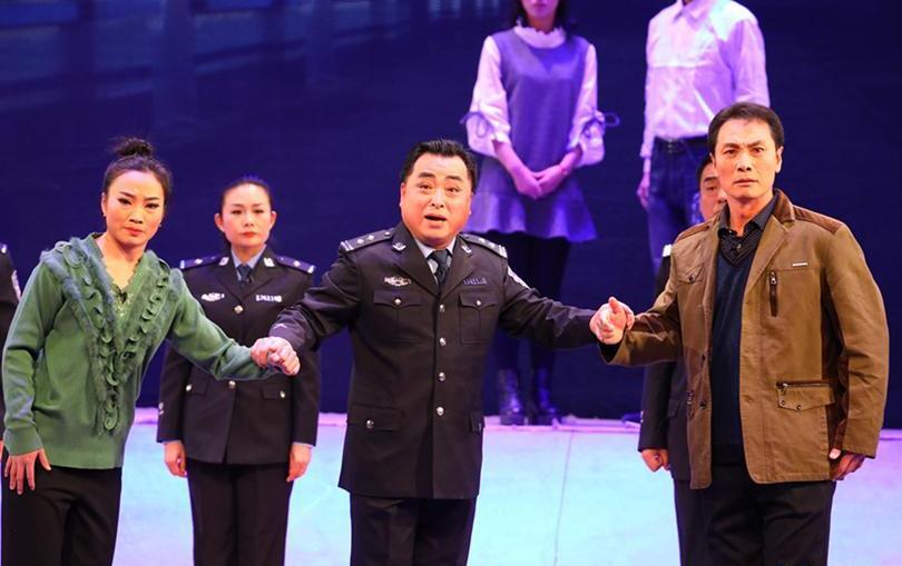 现场报道大型鞠萍歌剧《王武强》天津鞠萍剧院三组演出