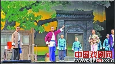 """陕西演艺集团北京剧院创作的大型现代京剧《风雨老调》突出了""""陕西京剧"""""""