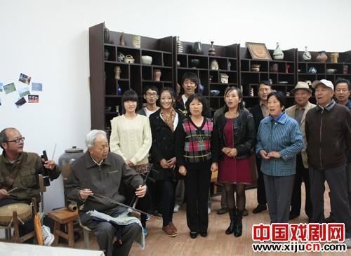 湖州职业技术学院创建校园第一个京剧票房