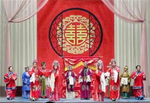 唐山评剧梅花奖得主张军领和罗慧琴再次来到天津演出