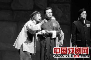 现代京剧《花梁紫》感动了观众。