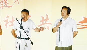 刘蓉生京剧团背诵友谊
