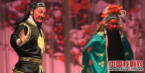 刘蓉生京剧团在中国大剧院演出