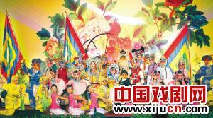 深圳宝安区儿童京剧团庆祝春节
