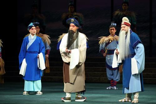 新的历史京剧《郑考赋》将再次出现在国家大剧院的舞台上。