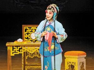 """京剧是""""元宵节""""的一种特殊表演"""