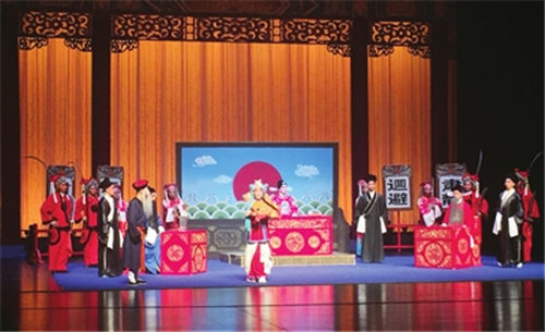 沈阳京剧院上演寻梅和张艺谋的代表作