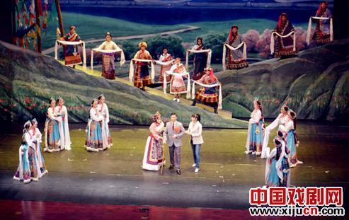 京剧《草原曼巴》将参加第七届中国京剧艺术节