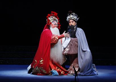 11月7日,上海京剧剧院在梅兰芳大剧院上演了一部新的历史京剧《春秋二虚》。