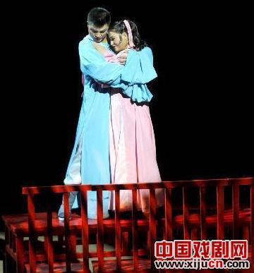 京剧版罗密欧与朱丽叶在兰州演出