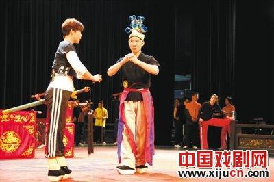 国光剧团进入台北穆卡