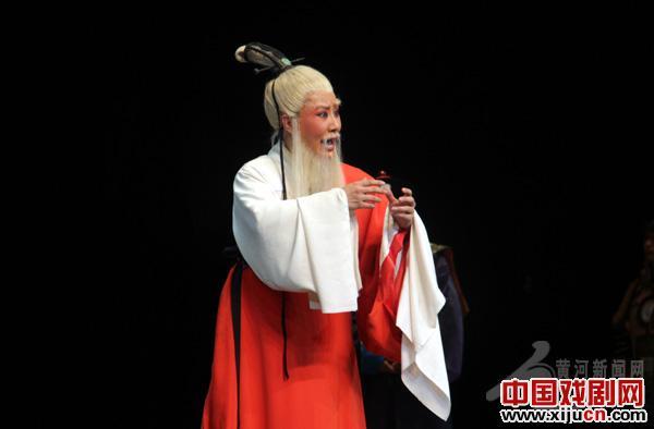 山西大剧院上演新晋戏剧《傅山进京》