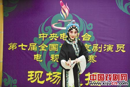 淄博市北京剧院成立62年来,第一次参加了中央电视台的比赛。