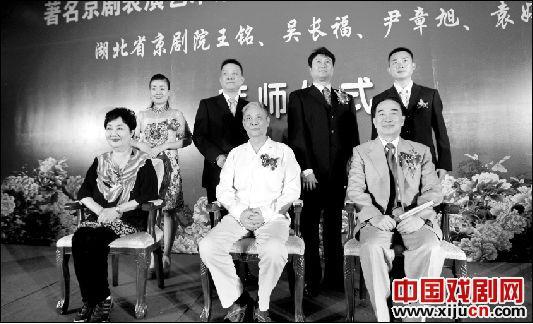 湖北京剧院的四名演员由叶少兰、张学津和孙毓敏执教。
