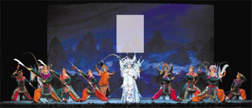 由国家京剧剧院改编的京剧《门阳女将军》将在宁波大剧院上演。