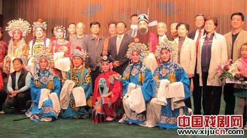 我喜欢看武汉工行的银行家表演京剧