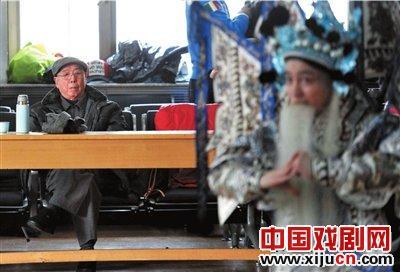 谭元寿希望孙子能继承谭派的衣钵