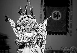 """多个京剧剧团联合举办了2011年""""魅力春天""""青年京剧演员(北京)挑战赛"""