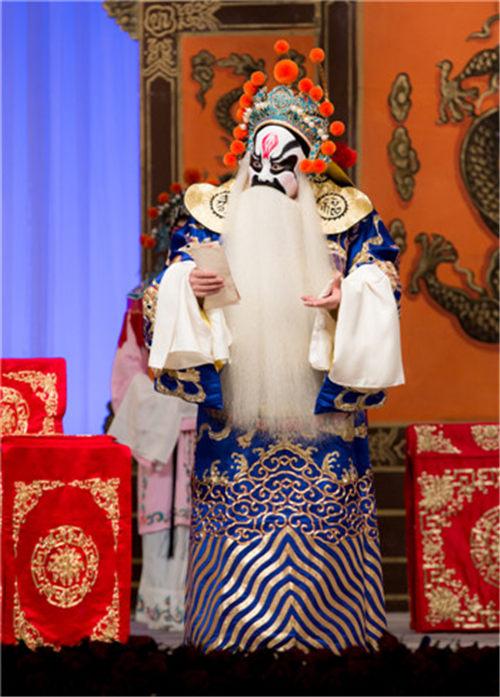 纪念袁世海的九江口展示袁世海不朽的艺术成就