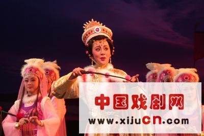 话剧《蔡文姬》是从民谣《胡韩风月》中移植过来的