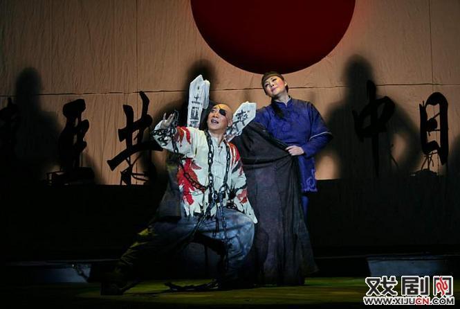 大型现代歌谣《我的呼兰河》在沈阳盛京大剧院演出。