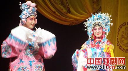 北京截击鞠萍剧团上演了鞠萍的《击金枝》