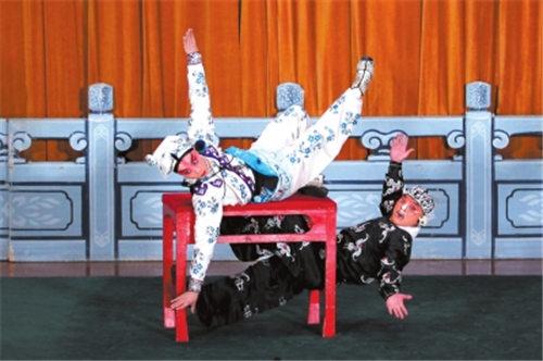京剧武术家雷战将在北京长安大剧院演出