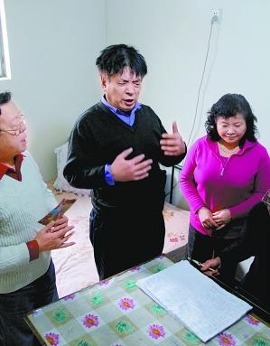 视障按摩师陈玉林为大型民谣《感动》创作了一首新曲