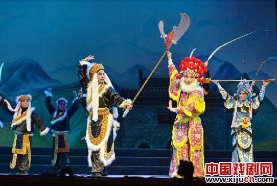 神木金剧团《杨家成传奇》获得七项大奖