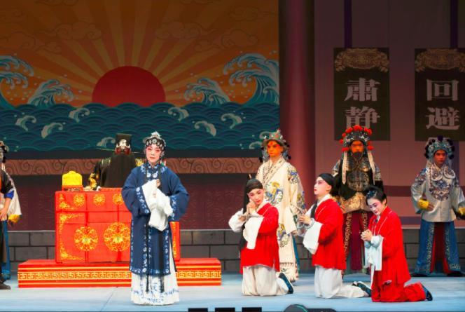 天津海河剧院将于2019年4月8日上演白人学校的《包公三坎蝴蝶梦》