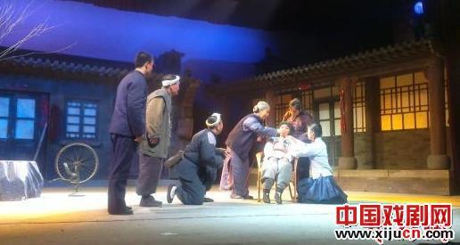 京剧《马尚街》连续五场演出